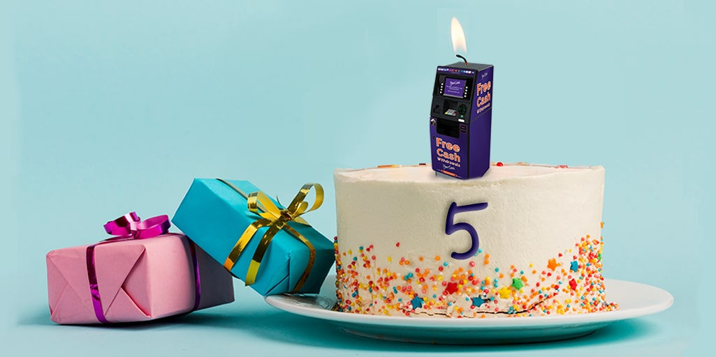 It's our fifth birthday!