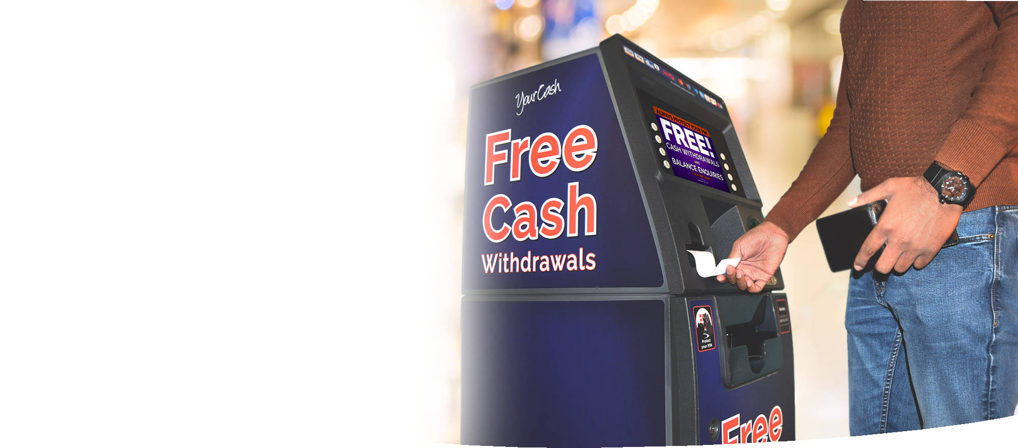 Would you like to find out if your business qualifies for a FREE YourCash ATM?