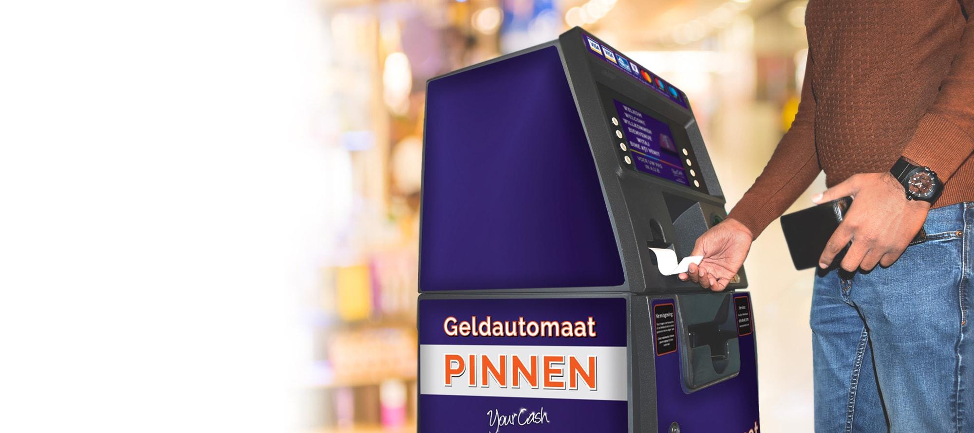 Wilt u weten of uw bedrijf in aanmerking komt voor een GRATIS YourCash- geldautomaat?